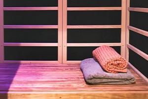 infrarød sauna i pause recovery studio
